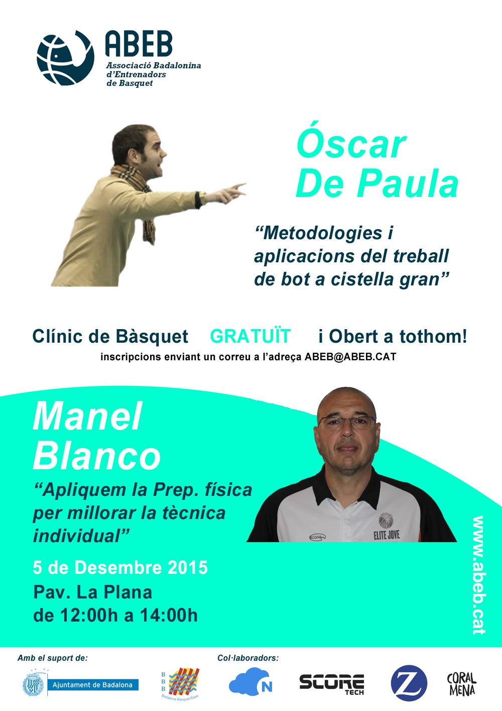 Clínic – Óscar de Paula i Manel Blanco